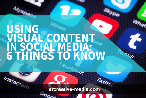 Using Visual Content in Social Media: 6 Things to Know